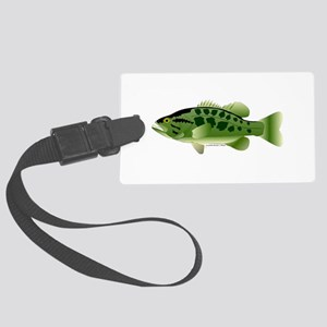 Spotted Bass (Black Bass Family) Luggage Tag
