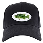 Spotted Bass (Black Bass Family) Baseball Hat