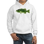 Spotted Bass (Black Bass Family) Hoodie