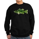 Spotted Bass (Black Bass Family) Sweatshirt