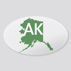 AK Sticker (Oval)