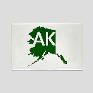 AK Rectangle Magnet