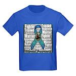Personalized Tripawds Kids Dark T-Shirt