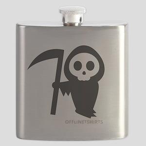 Cute Grim Reaper Flask
