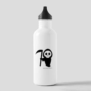 Cute Grim Reaper Stainless Water Bottle 1.0L