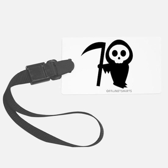 Cute Grim Reaper Luggage Tag
