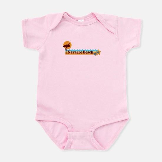 Navarre Beach - Beach Design. Infant Bodysuit