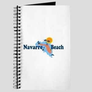 Navarre Beach - Map Design. Journal