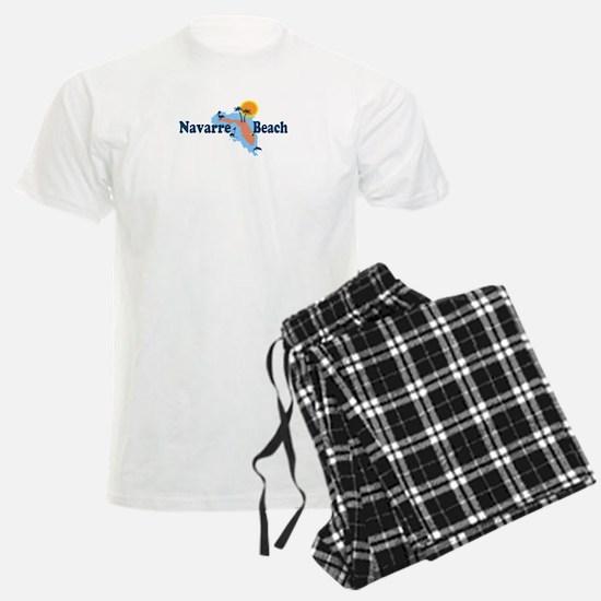 Navarre Beach - Map Design. Pajamas