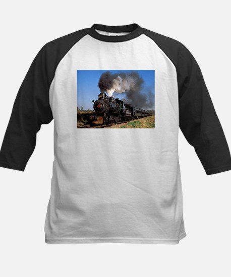 Antique steam engine train Baseball Jersey