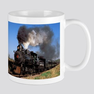 Antique steam engine train Mug