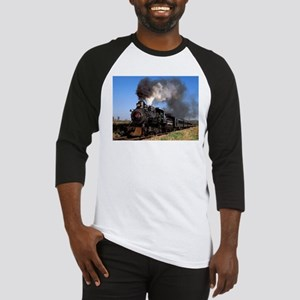 Antique steam engine train Baseball Jersey