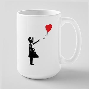 Banksy - Little Girl with Ballon Mug