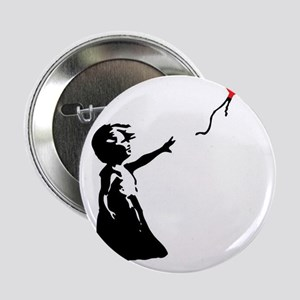 "Banksy - Little Girl with Ballon 2.25"" Button"
