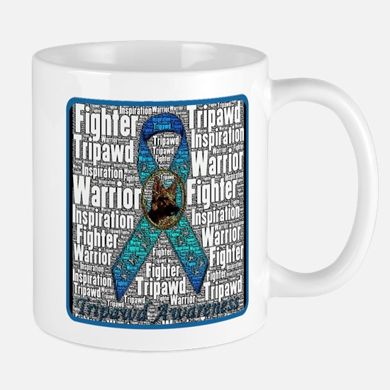 Personalized Tripawds Mug