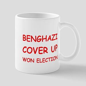 Benghazi Cover Up Won Election Mug