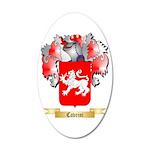 Cavrini 20x12 Oval Wall Decal