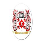 Cavin 35x21 Oval Wall Decal