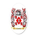 Caville Oval Car Magnet
