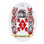 Caville Ornament (Oval)