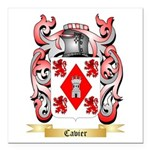 Cavier Square Car Magnet 3