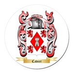 Cavier Round Car Magnet