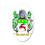 Cavey 35x21 Oval Wall Decal