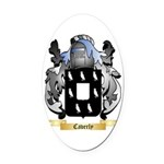 Caverly Oval Car Magnet