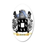 Caverly 35x21 Oval Wall Decal
