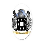 Caverley Oval Car Magnet