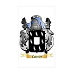 Caverley Sticker (Rectangle 50 pk)