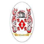 Cavell Sticker (Oval 50 pk)