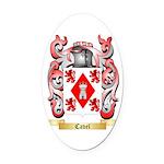 Cavel Oval Car Magnet