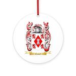 Cavel Ornament (Round)