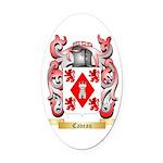 Caveau Oval Car Magnet