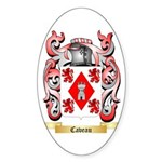 Caveau Sticker (Oval 50 pk)