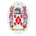 Caveau Ornament (Oval)