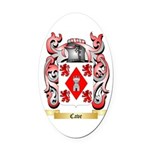 Cave Oval Car Magnet