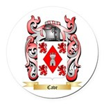 Cave Round Car Magnet