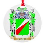 Cavazos Round Ornament