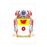 Cavanni Sticker (Rectangle 50 pk)