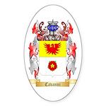 Cavanni Sticker (Oval 50 pk)