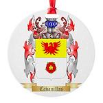 Cavanillas Round Ornament