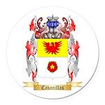 Cavanillas Round Car Magnet
