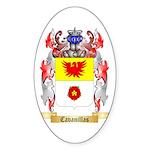 Cavanillas Sticker (Oval)