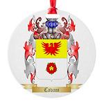 Cavani Round Ornament