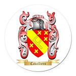 Cavalliero Round Car Magnet