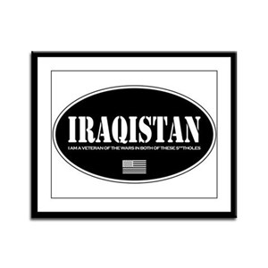 Iraqistan Framed Panel Print