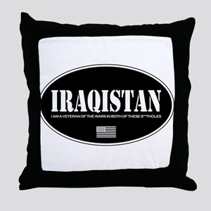 Iraqistan Throw Pillow