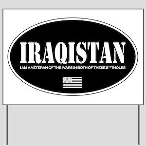 Iraqistan Yard Sign
